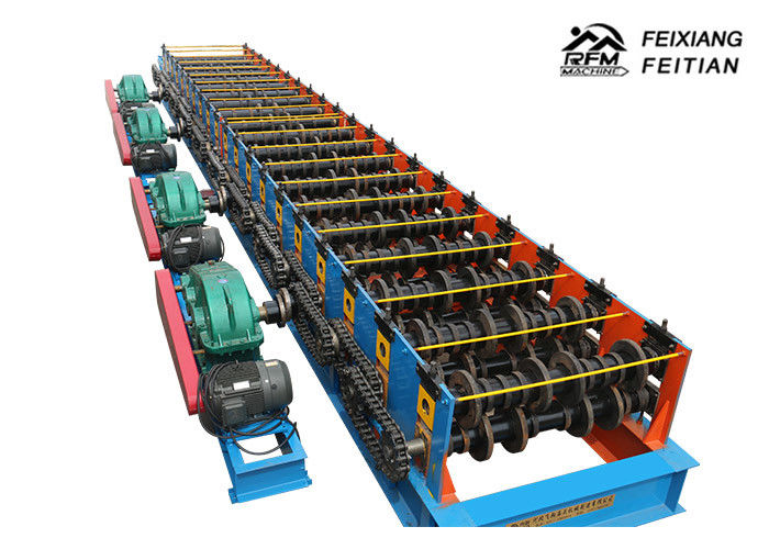 Gear Drive 2 Mm Thick Sandwich Panel Roll Forming Machine / Metal Car Panel Making Machine