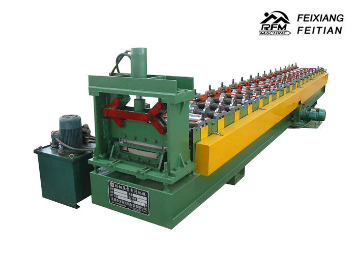 Middle Plate Style Cable Tray Roll Forming Machine Chain Drive Type For Construction