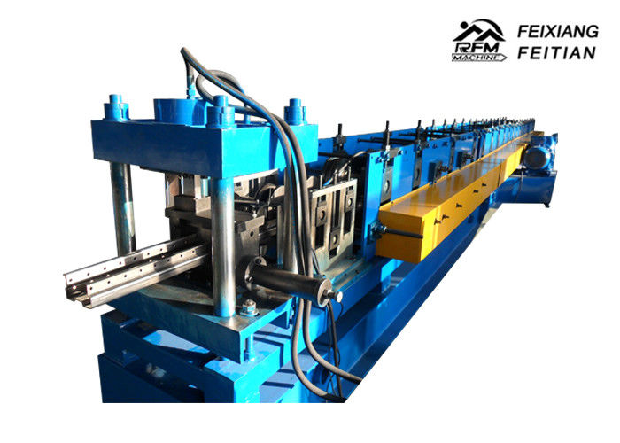 Hydraulic Press Type Cable Tray Forming Machine , Cable Tray Making Machine For Shelves