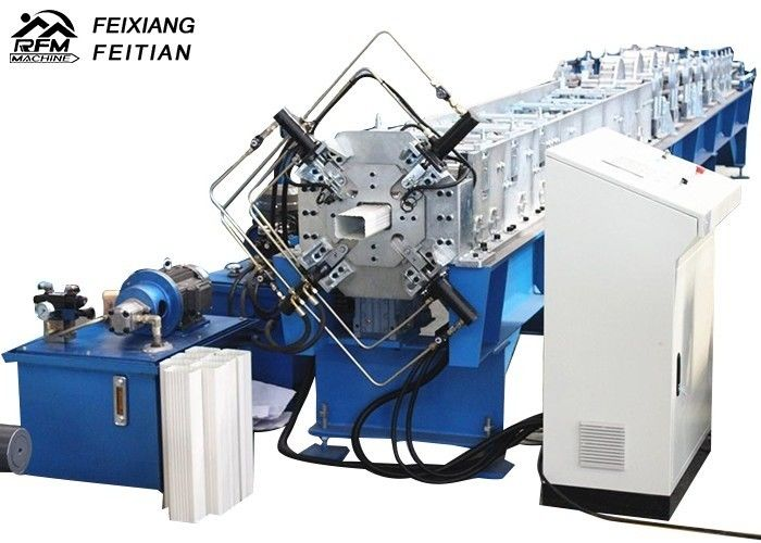 Reliable Downspout Roll Forming Machine , Galvanized Steel Pipe Making Machine
