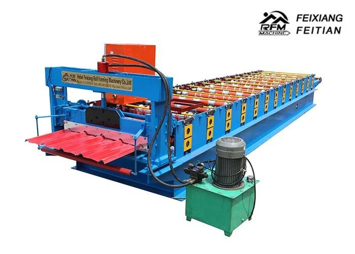 Metal Roof Tile Roll Forming Machine Iron Sheet Zinc Metal Building Material