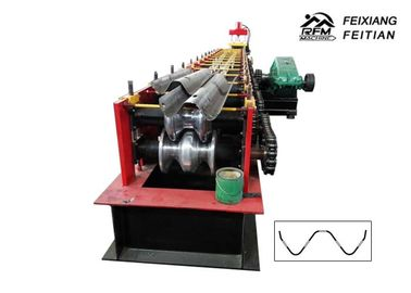 ماشین حرفه ای بزرگراه Guardrail Roll Forming Machine 2/3 Waves Guardrail Machine